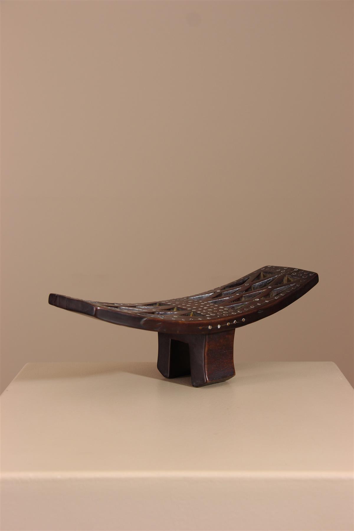 Appuie-nuique Mongo - Déco africaine - Art africain traditionnel