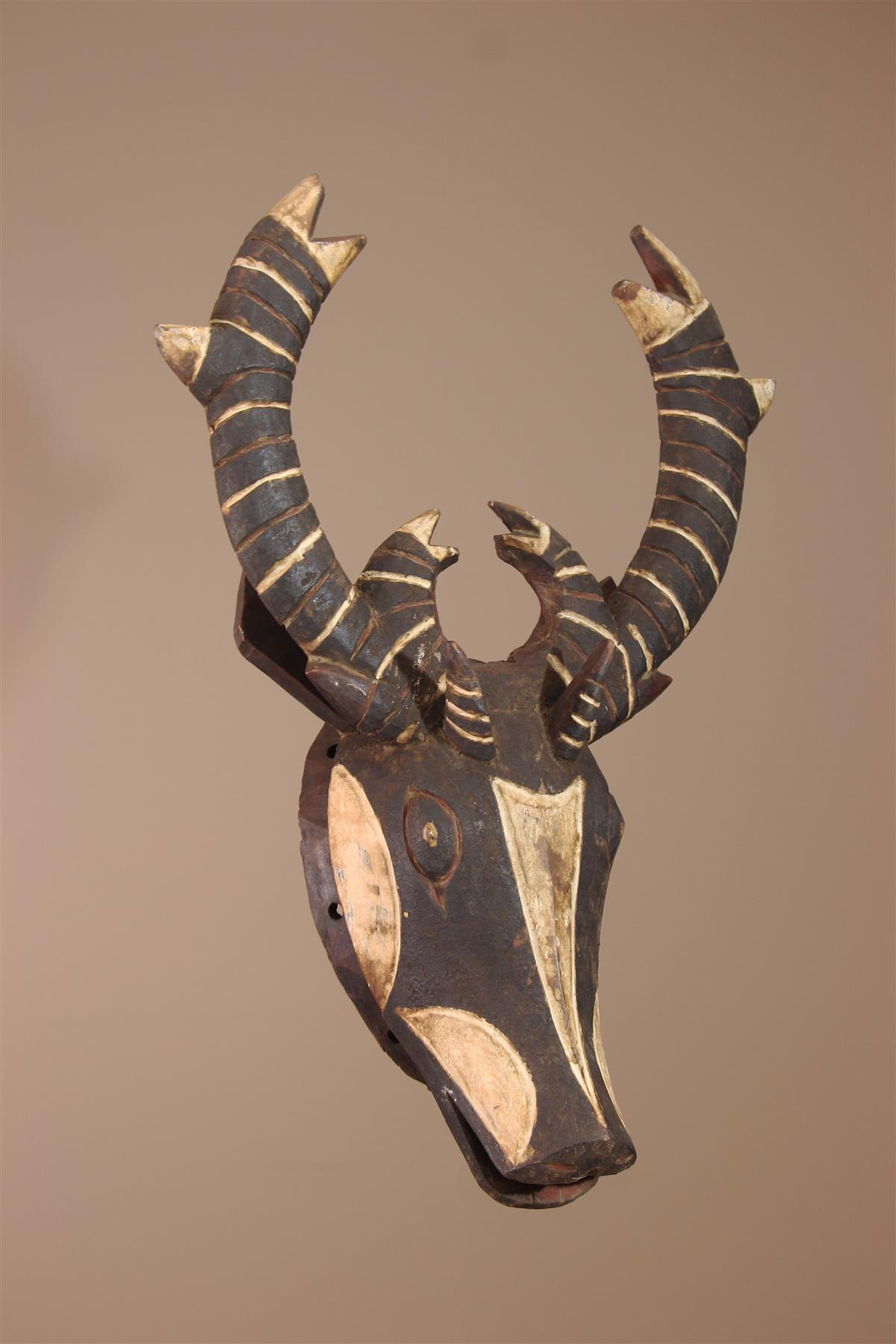 Masque Mossi - Déco africaine - Art africain traditionnel