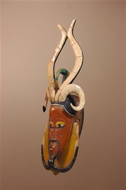 Grand masque Gouro de Côte d Ivoire