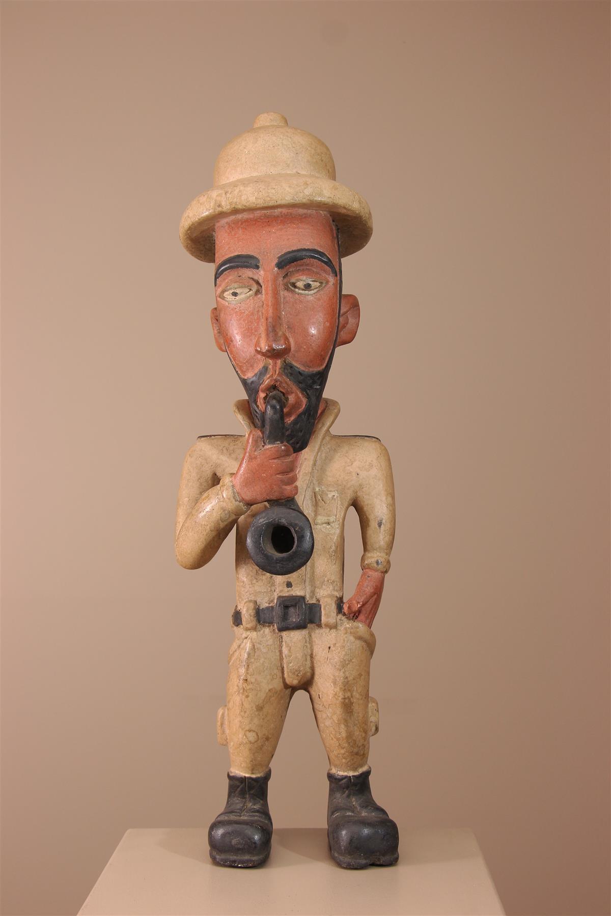 Colon Kongo - Déco africaine - Art africain traditionnel