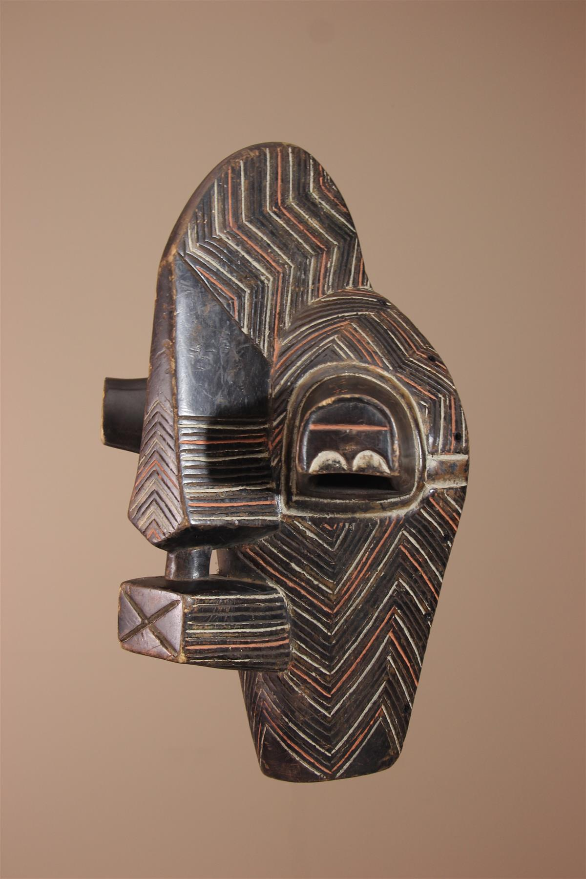 Masque Songye - Déco africaine - Art africain traditionnel