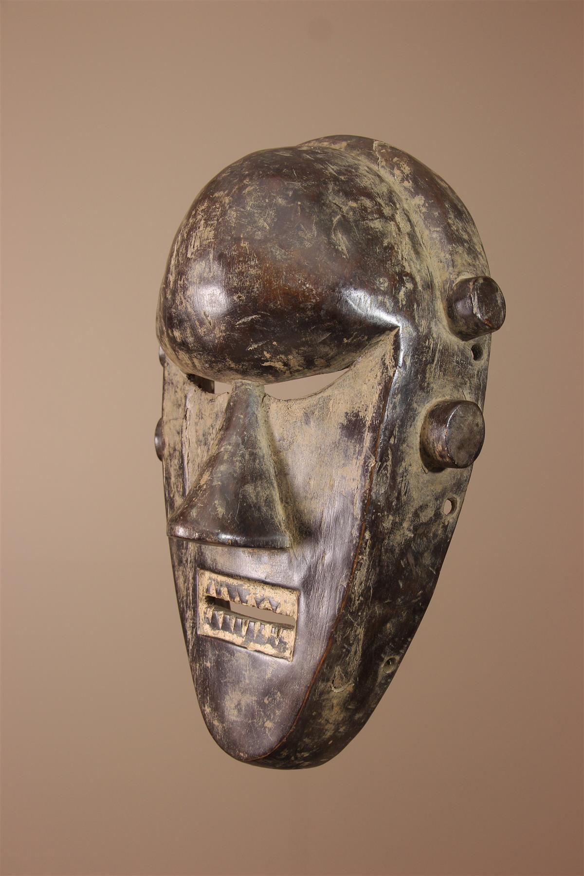 Masque Salampasu - Déco africaine - Art africain traditionnel