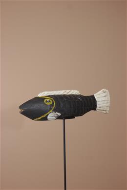 Masque marionnette Bozo poisson