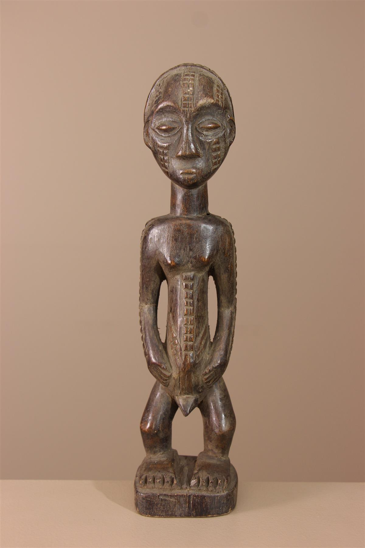 Statuette Tabwa - Déco africaine - Art africain traditionnel