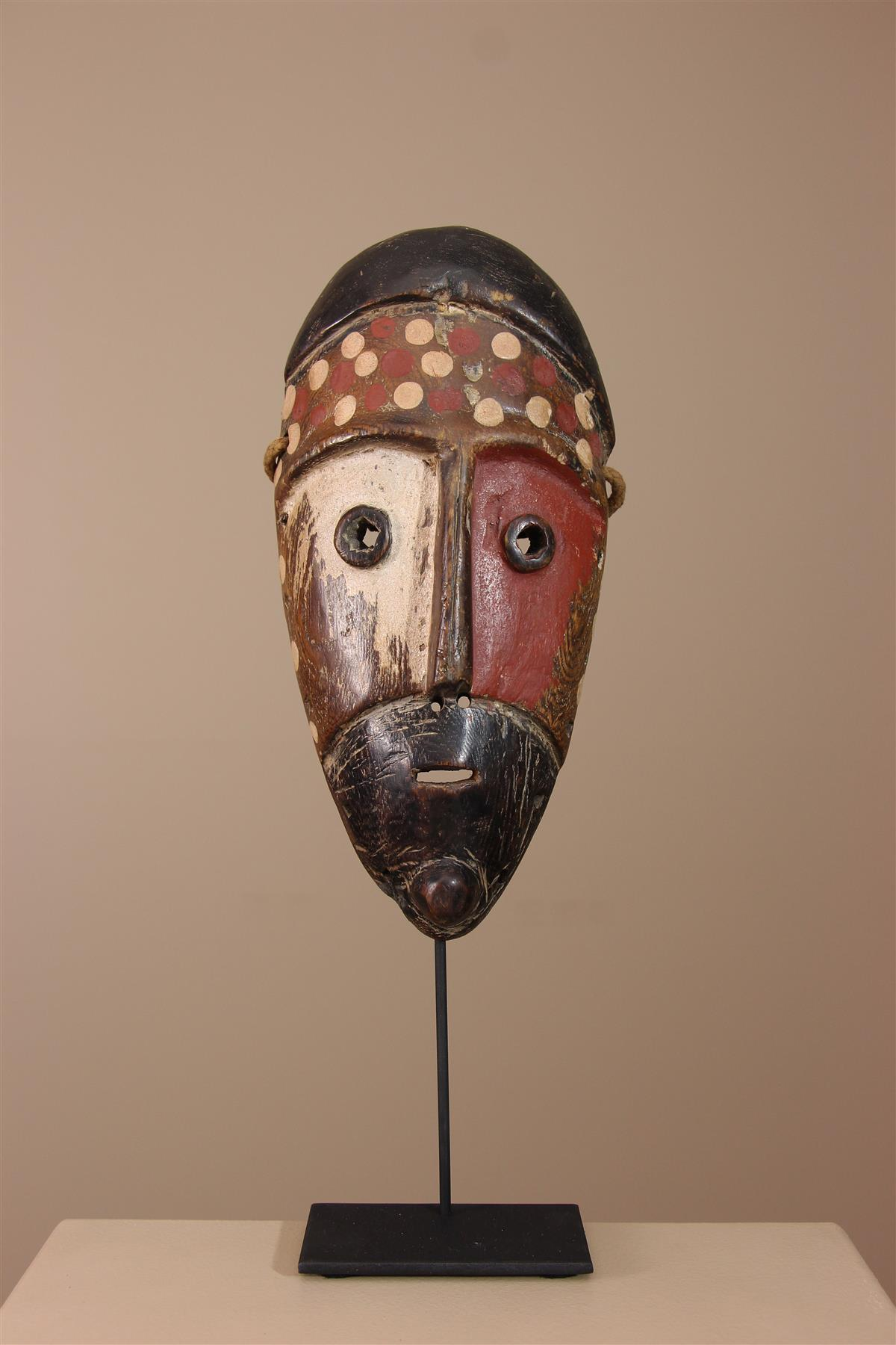 Masque Metoko - Déco africaine - Art africain traditionnel
