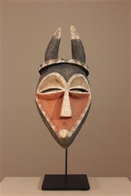 Masque Pende sur socle