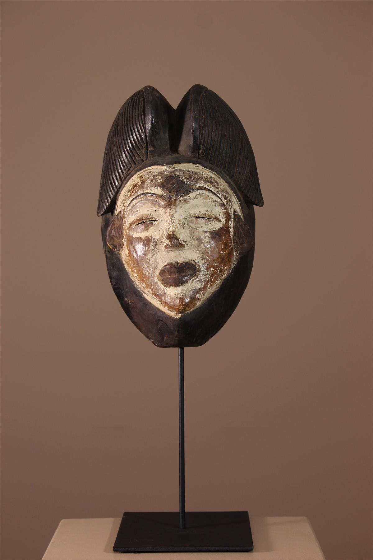 Masque Punu - Déco africaine - Art africain traditionnel