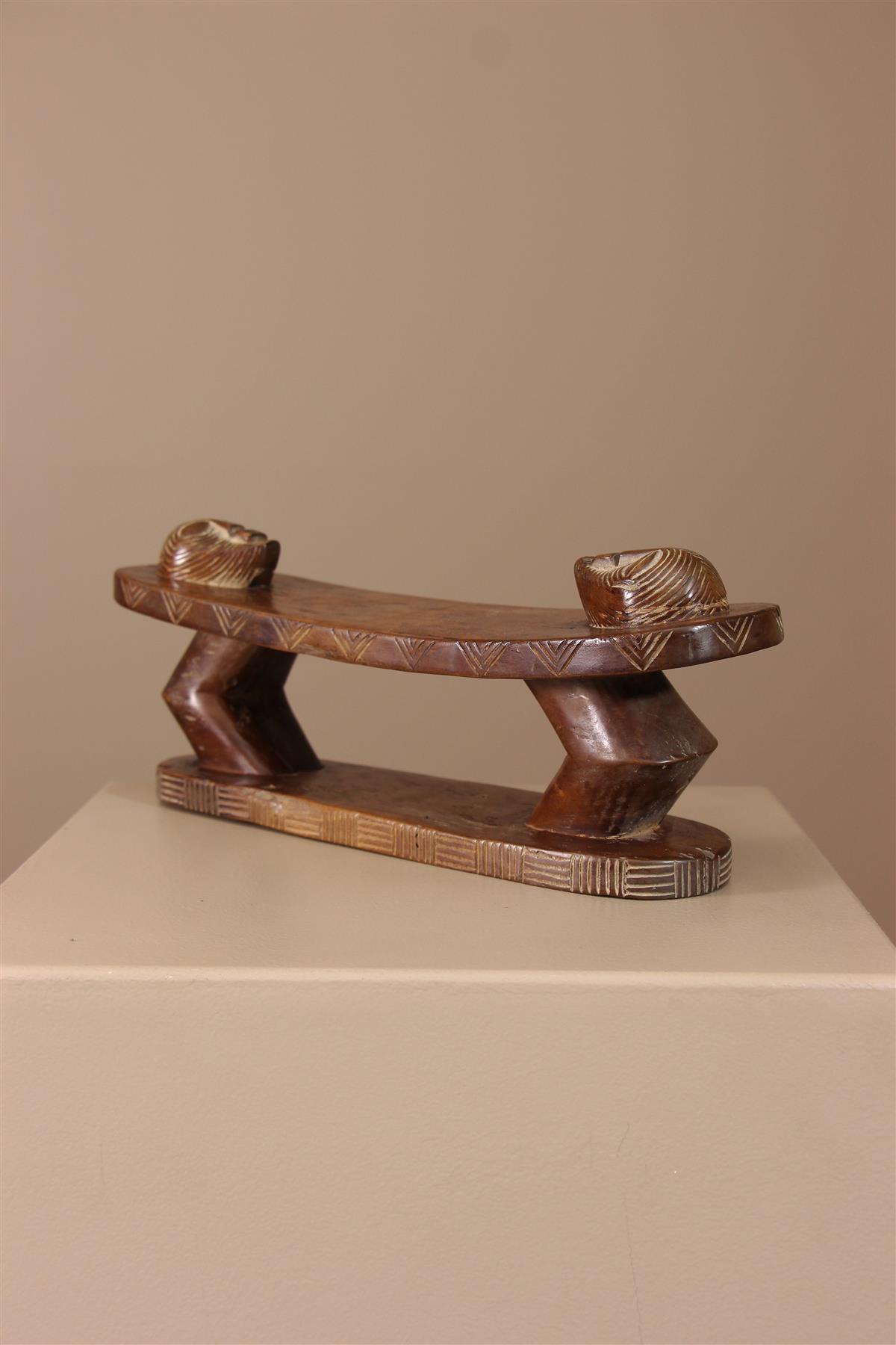 Appui-nuque Songye - Déco africaine - Art africain traditionnel