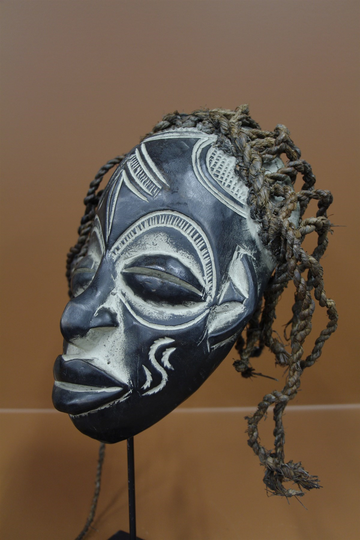 Masque Chokwe - Déco africaine - Art africain traditionnel
