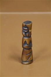 Statues africainesFétiche en os Bamiléké