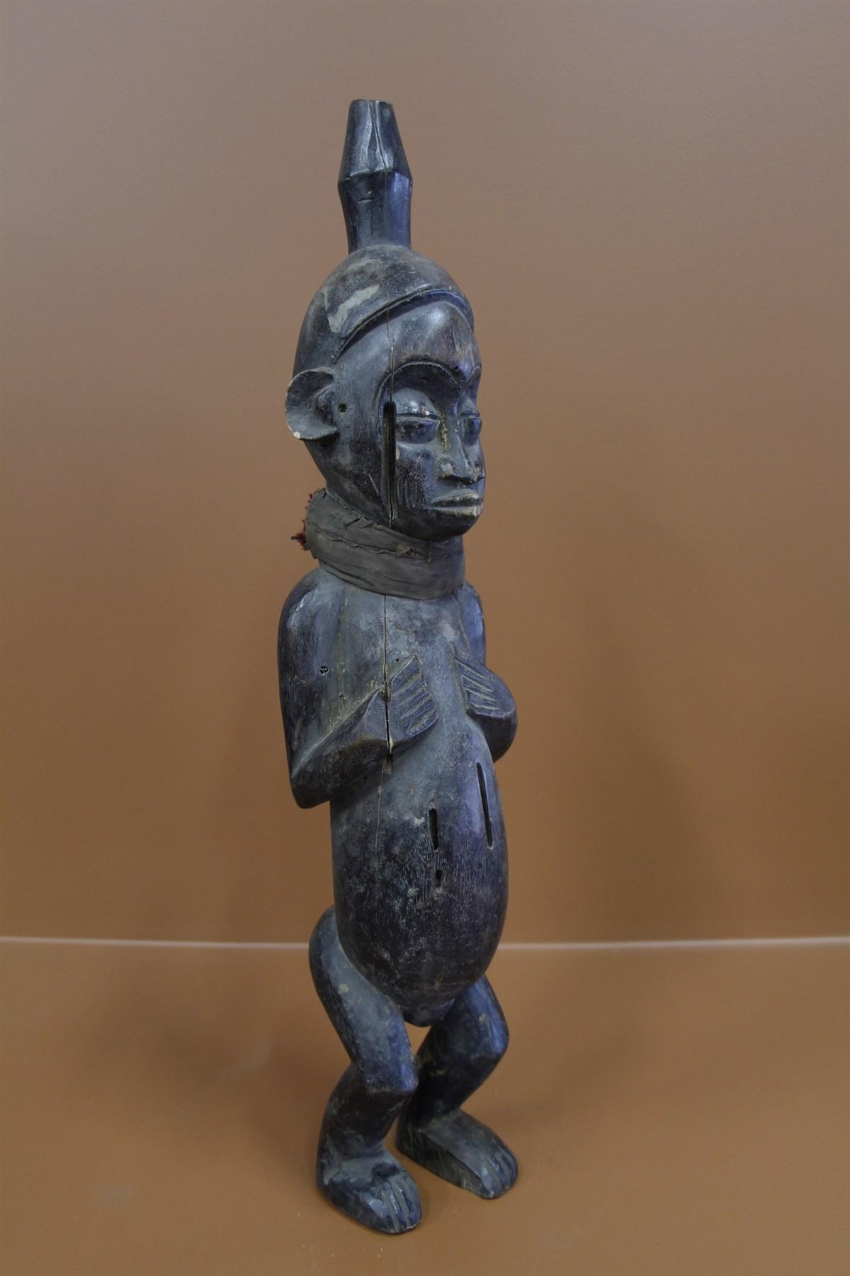 Statue Yoruba - Déco africaine - Art africain traditionnel