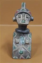 Statues africainesMasque Baga Nimba en terre cuite