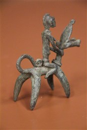 bronze africainAnimal mythique Dogon