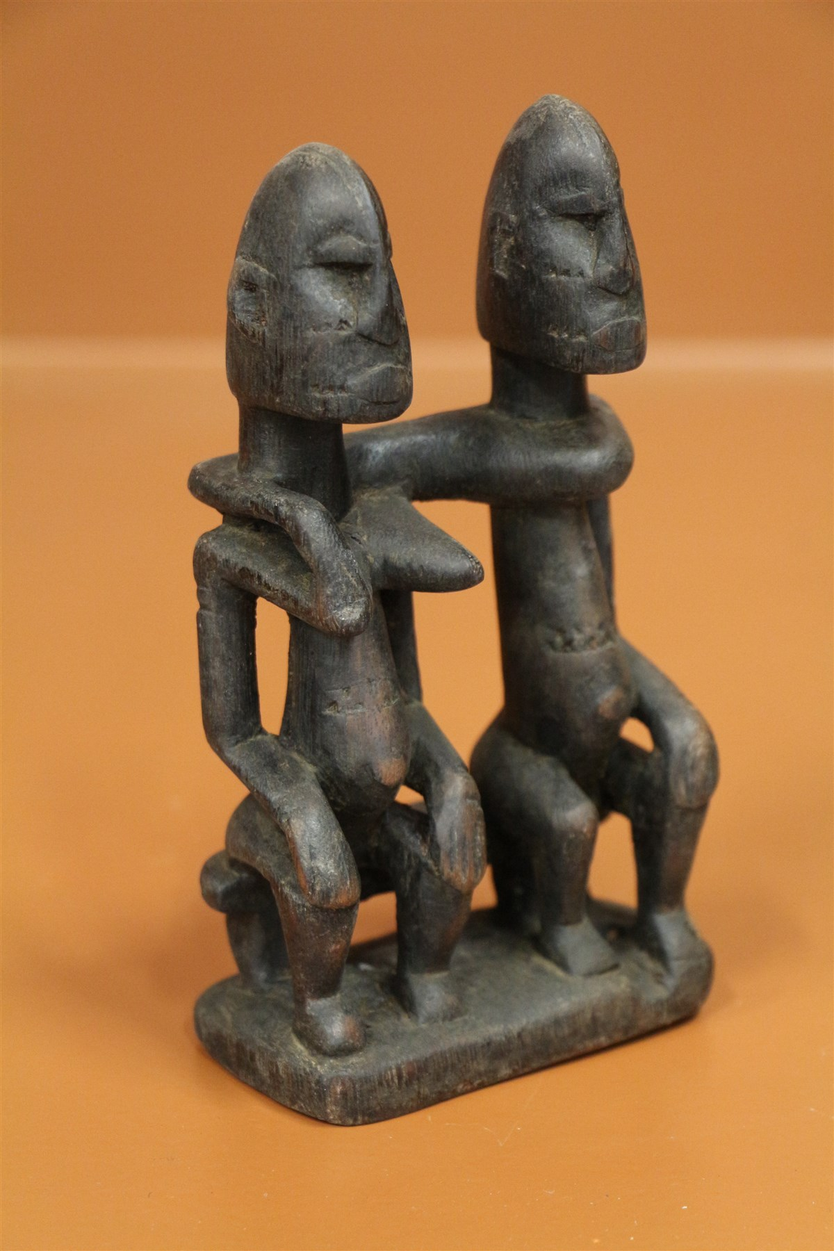 Couple primordial Dogon - Déco africaine - Art africain traditionnel
