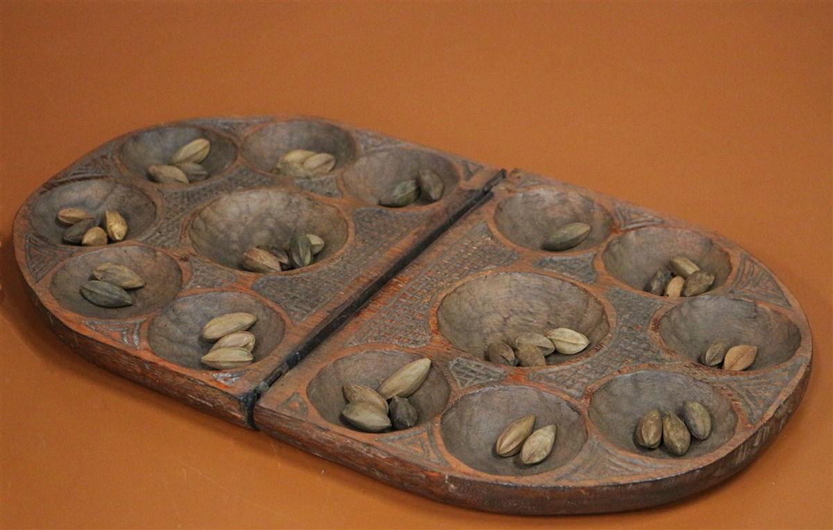 Awalé artisanat africain - Déco africaine - Art africain traditionnel