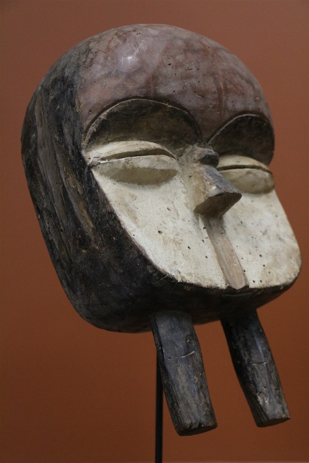 Masque Kwele - Déco africaine - Art africain traditionnel