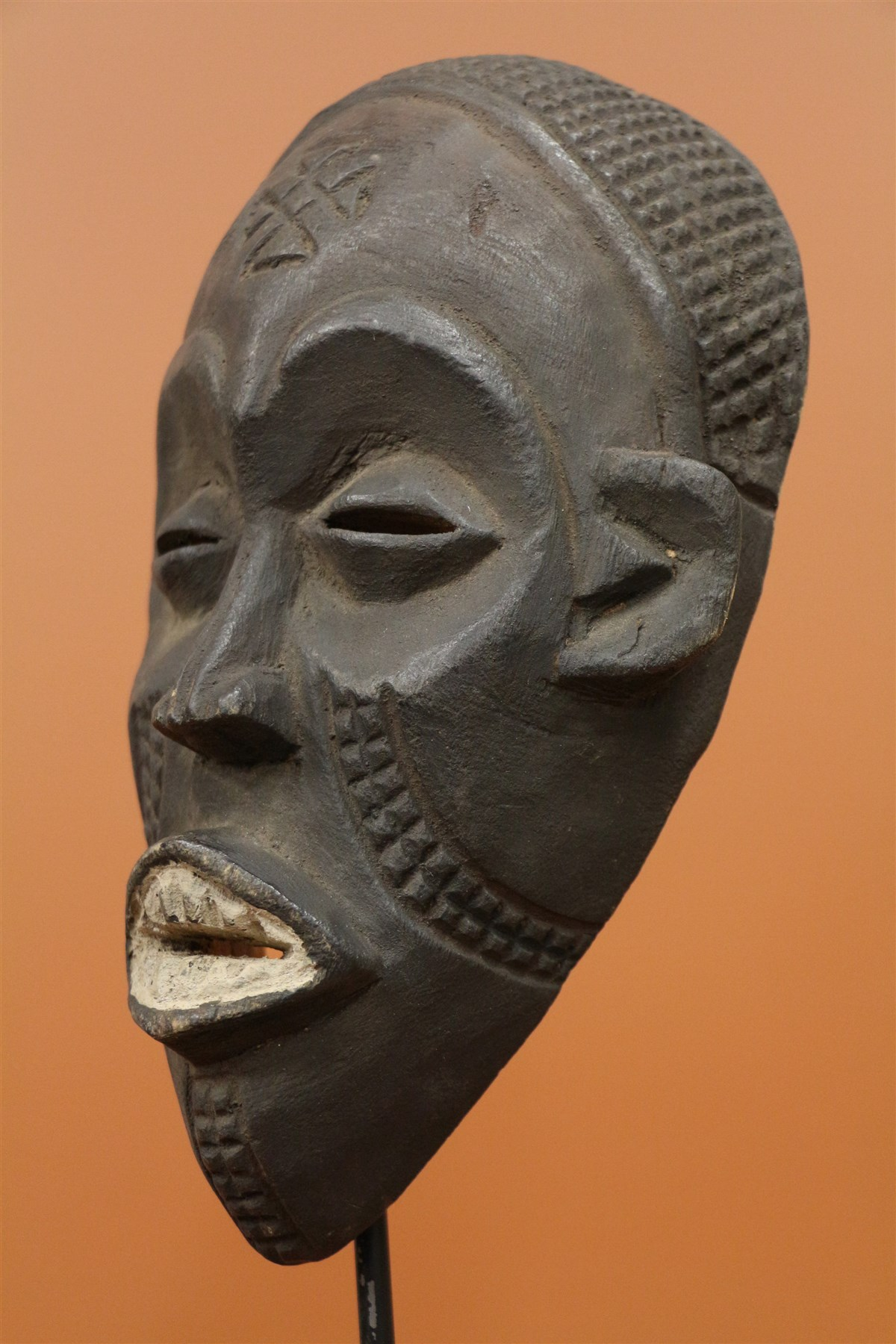 Masque Chokwe passeport - Déco africaine - Art africain traditionnel