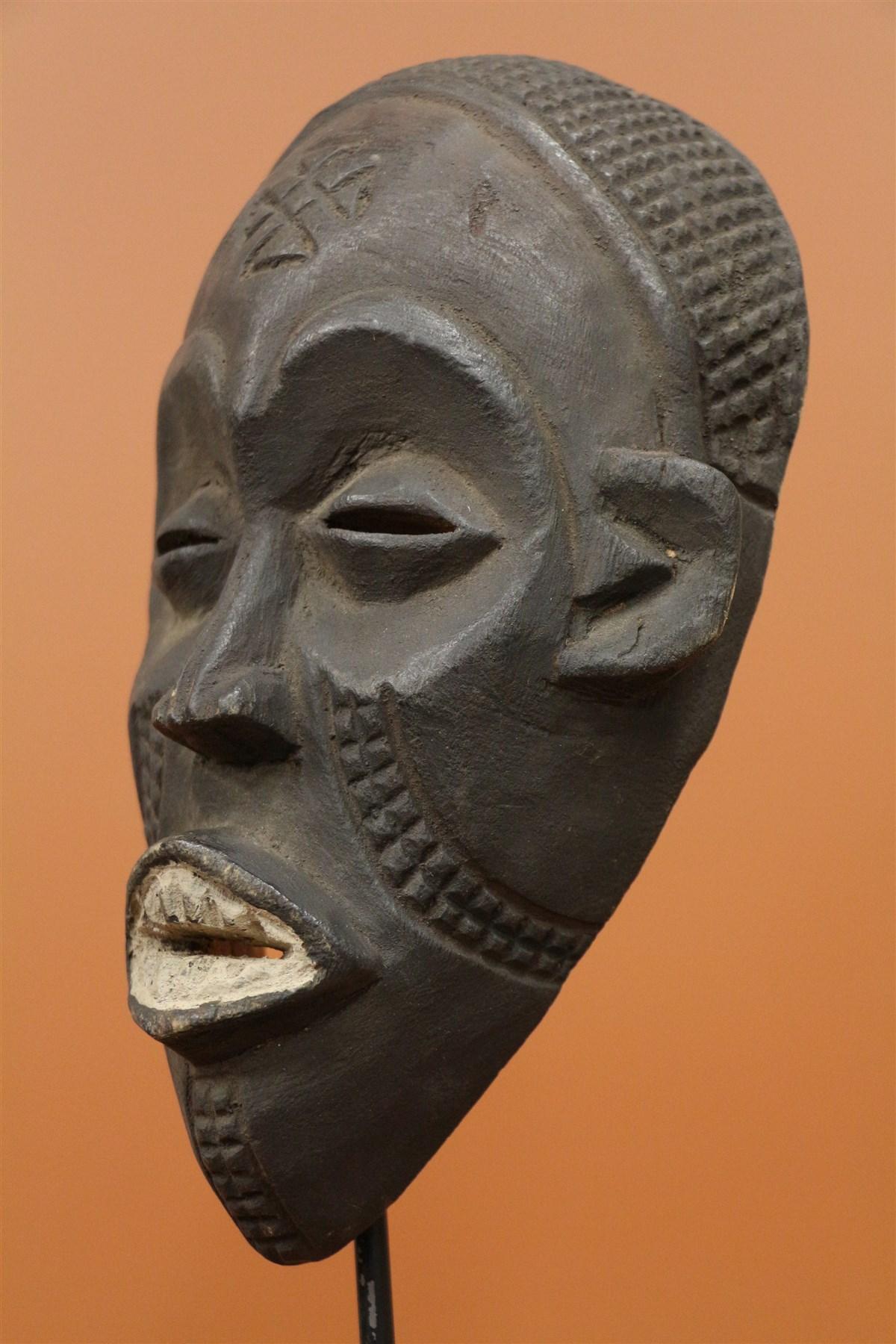 Masque Chokwe passeport