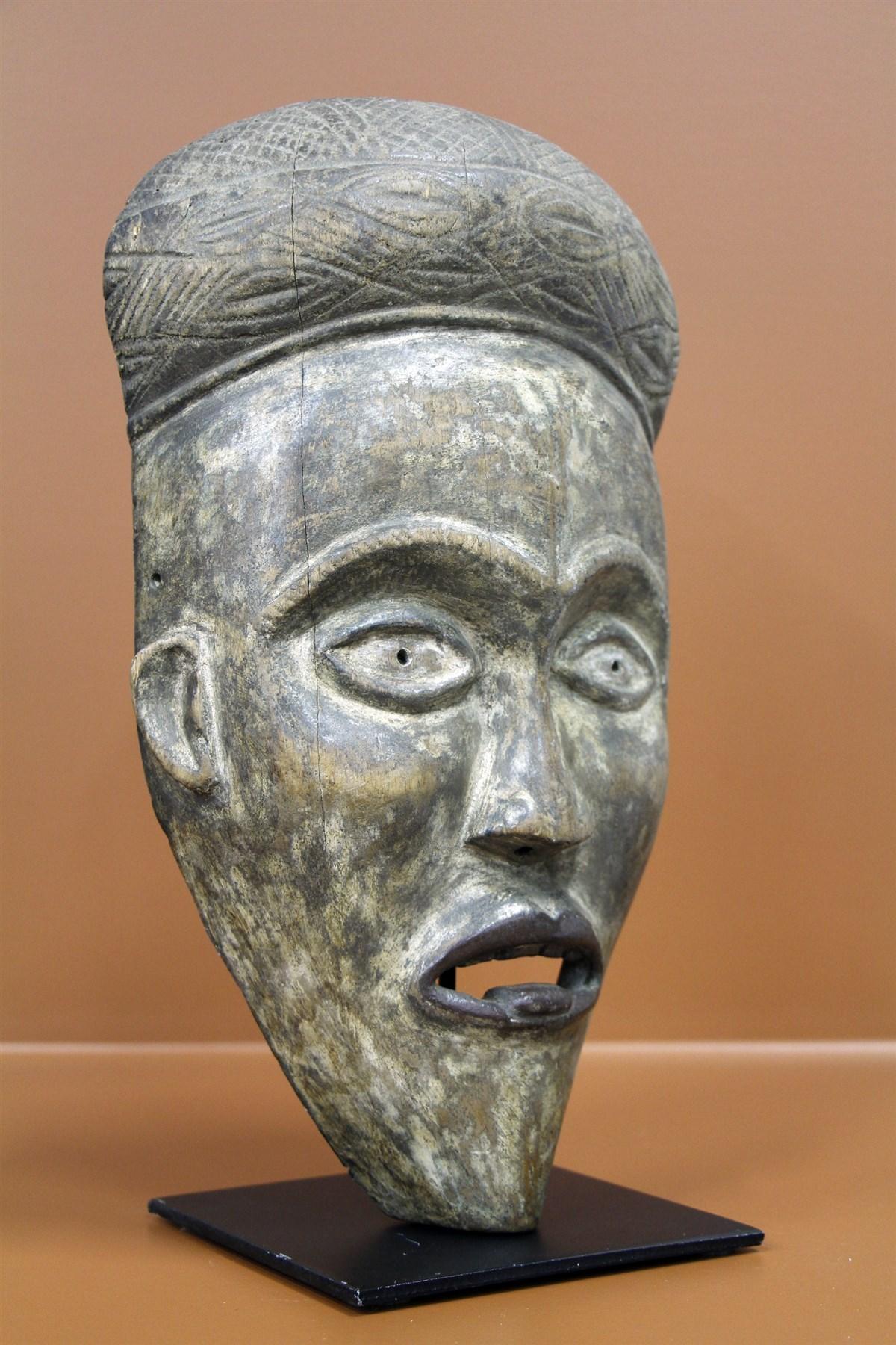 Masque Kongo Vili - Déco africaine - Art africain traditionnel