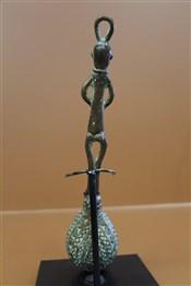bronze africainCuillère en bronze africain Tikar