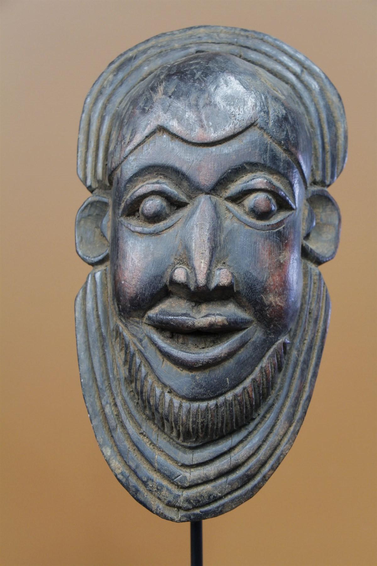 Masque Bamileke - Déco africaine - Art africain traditionnel