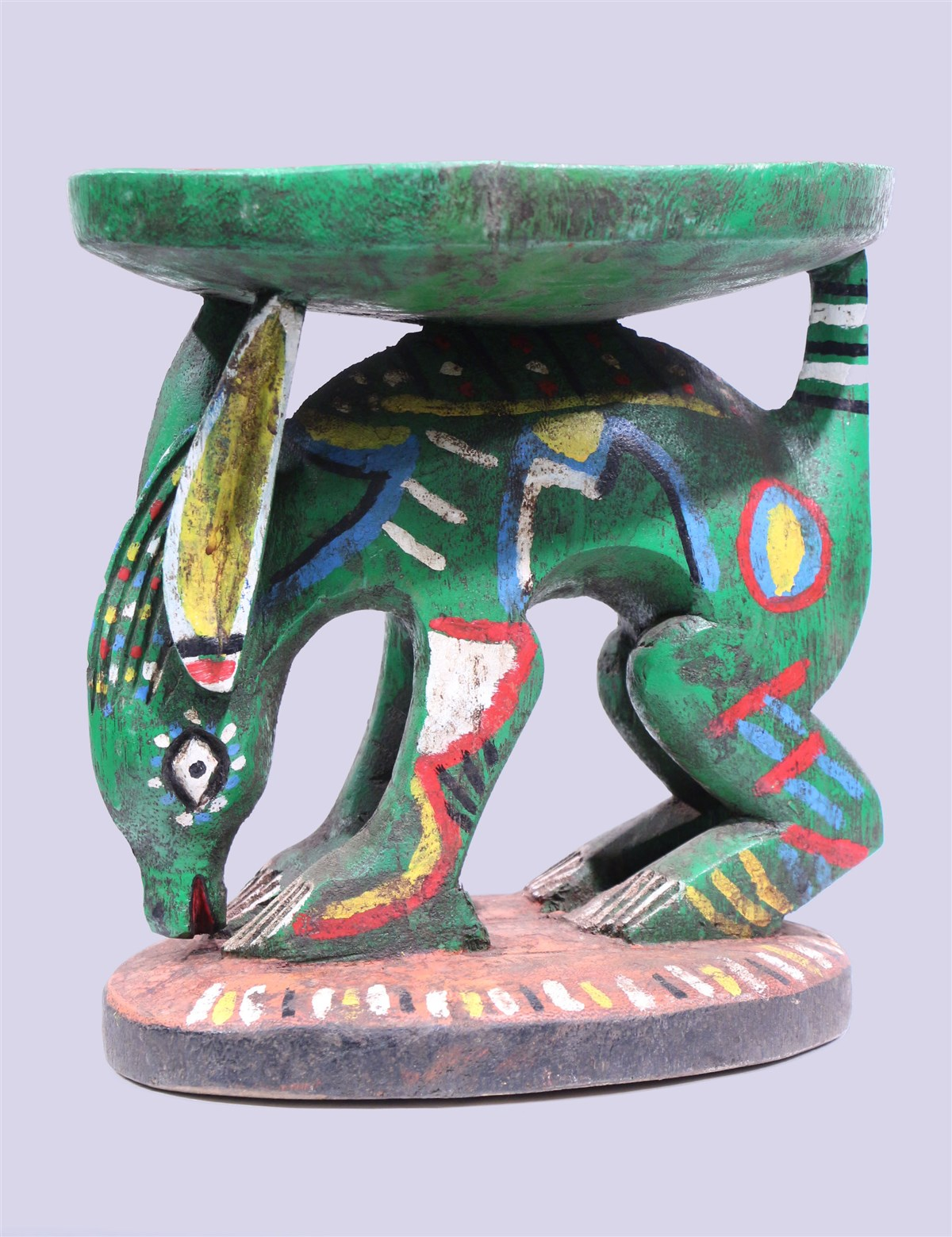 Tabouret Bozo - Déco africaine - Art africain traditionnel