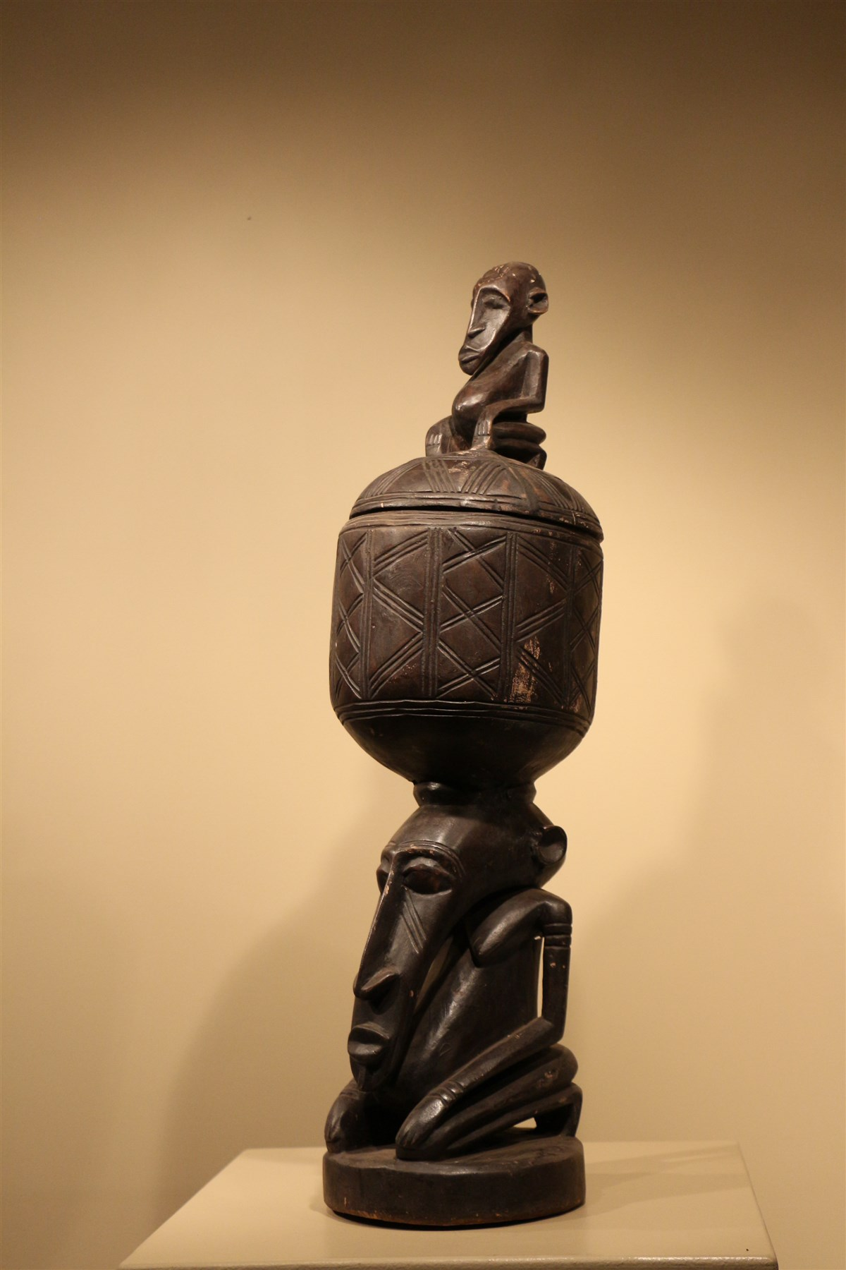 Boite Dogon - Déco africaine - Art africain traditionnel