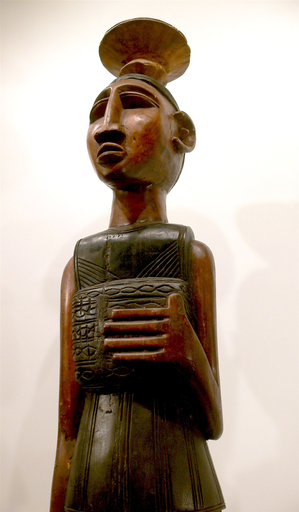 Statue Bambara - Déco africaine - Art africain traditionnel