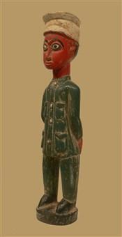 Statues africainesStatue colon vert