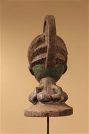 Masque africainMasque cimier Yoruba