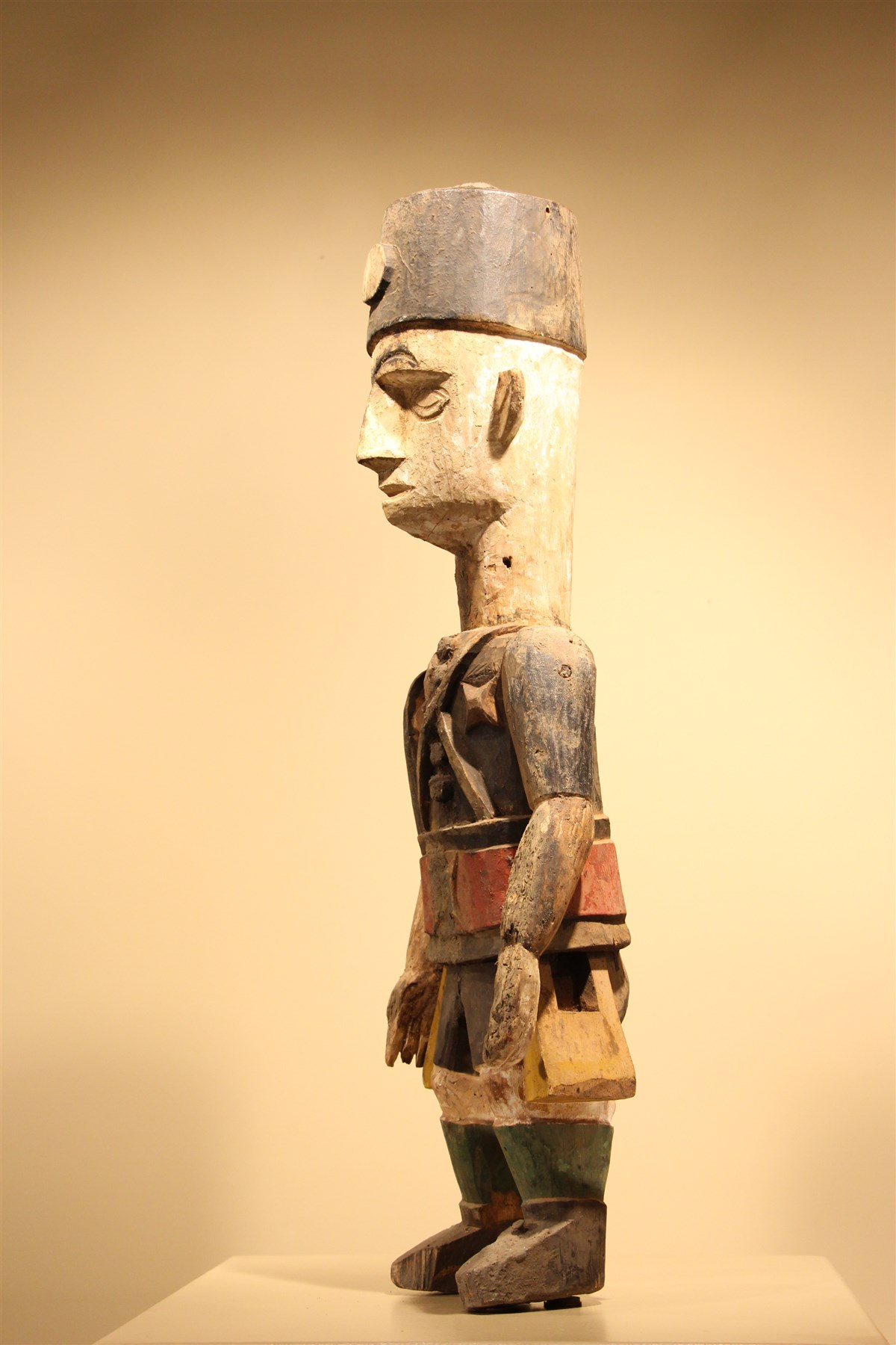 Statue colon - Déco africaine - Art africain traditionnel
