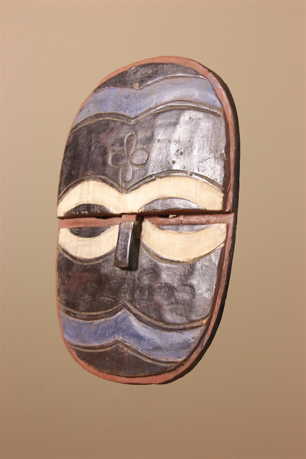 Masque africain Teke Idumu
