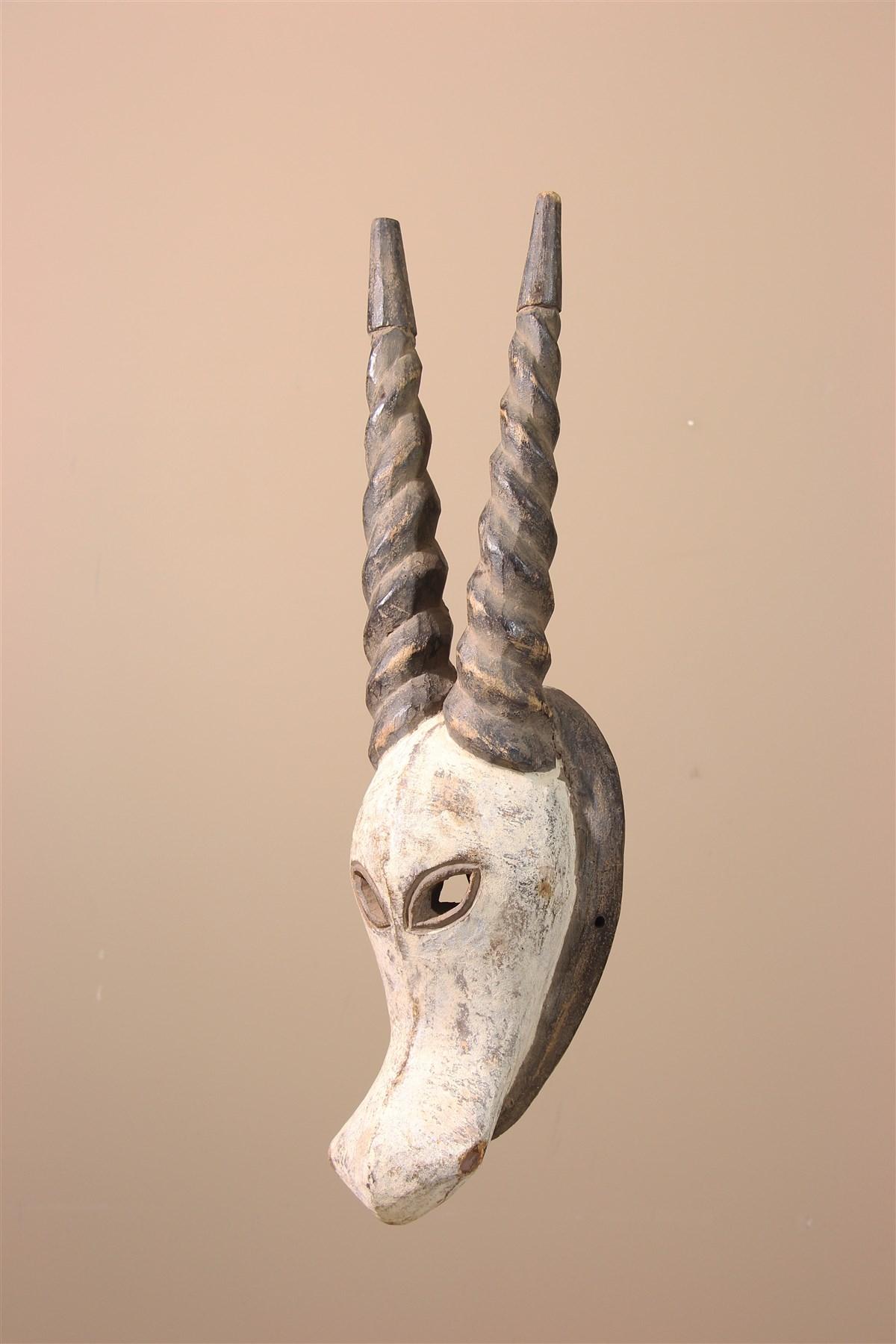 Masque africain Kwélé du Gabon - Déco africaine - Art africain traditionnel