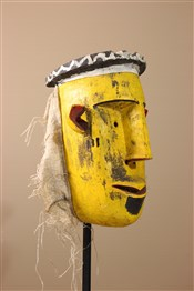 Masque africainGrand masque Bozo du Mali