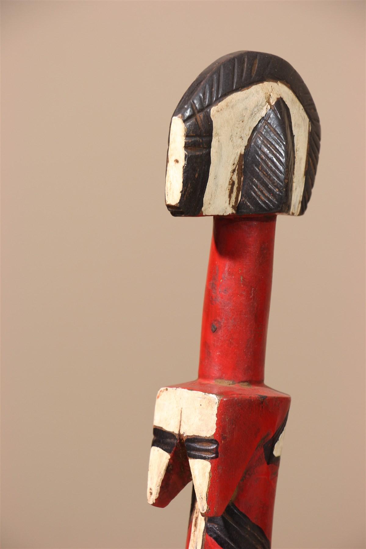 Poupée traditionnelle de fécondite Mossi Biiga