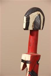 Statues africainesPoupée traditionnelle de fécondite Mossi Biiga