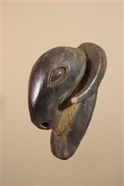 Masque africainGrand masque bélier de Côte d Ivoire