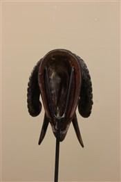 Masque africainMasque miniature bélier de Côte d Ivoire