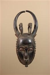 Masque africainMasque de Côte d Ivoire Baule