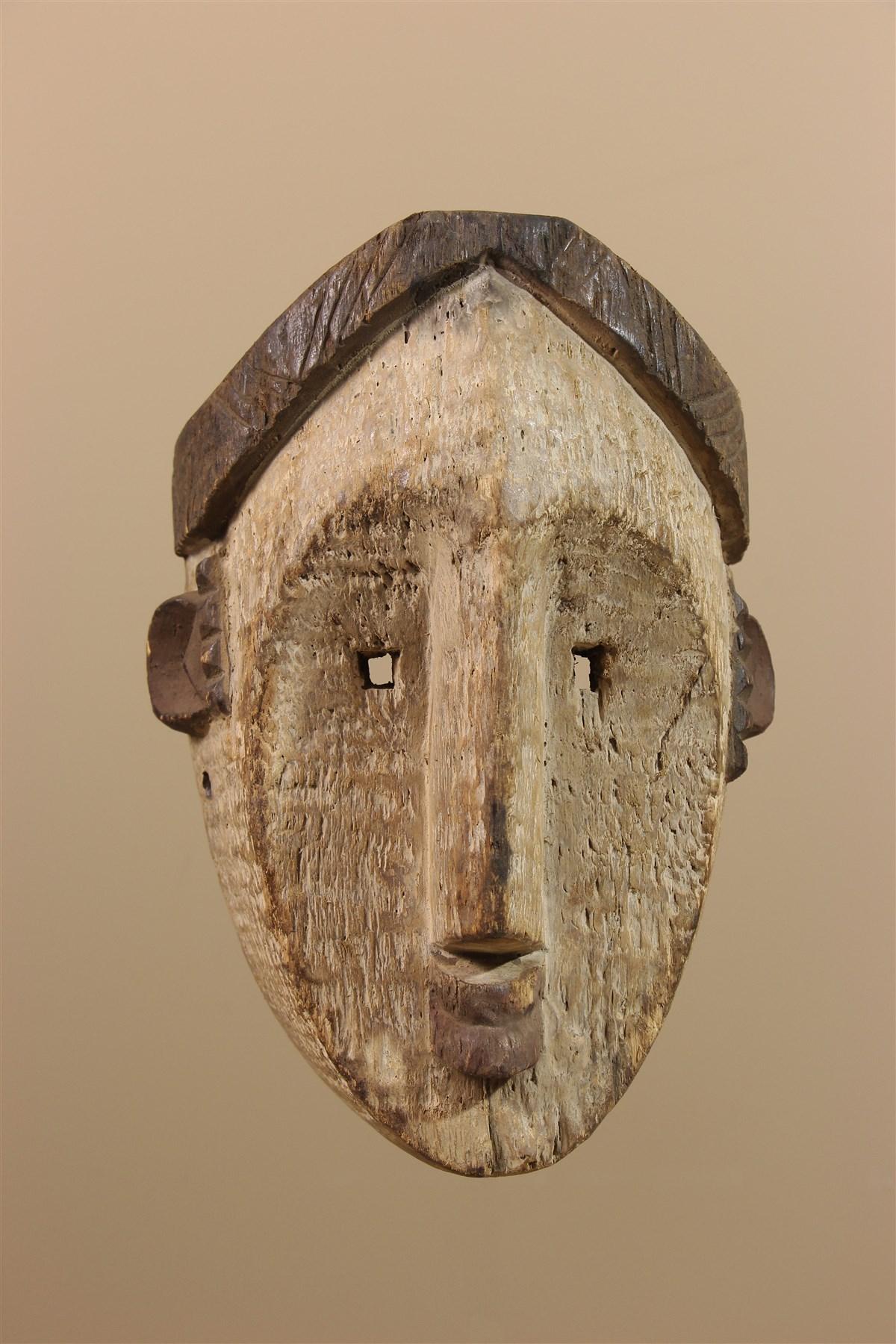 Masque africain Lwalwa