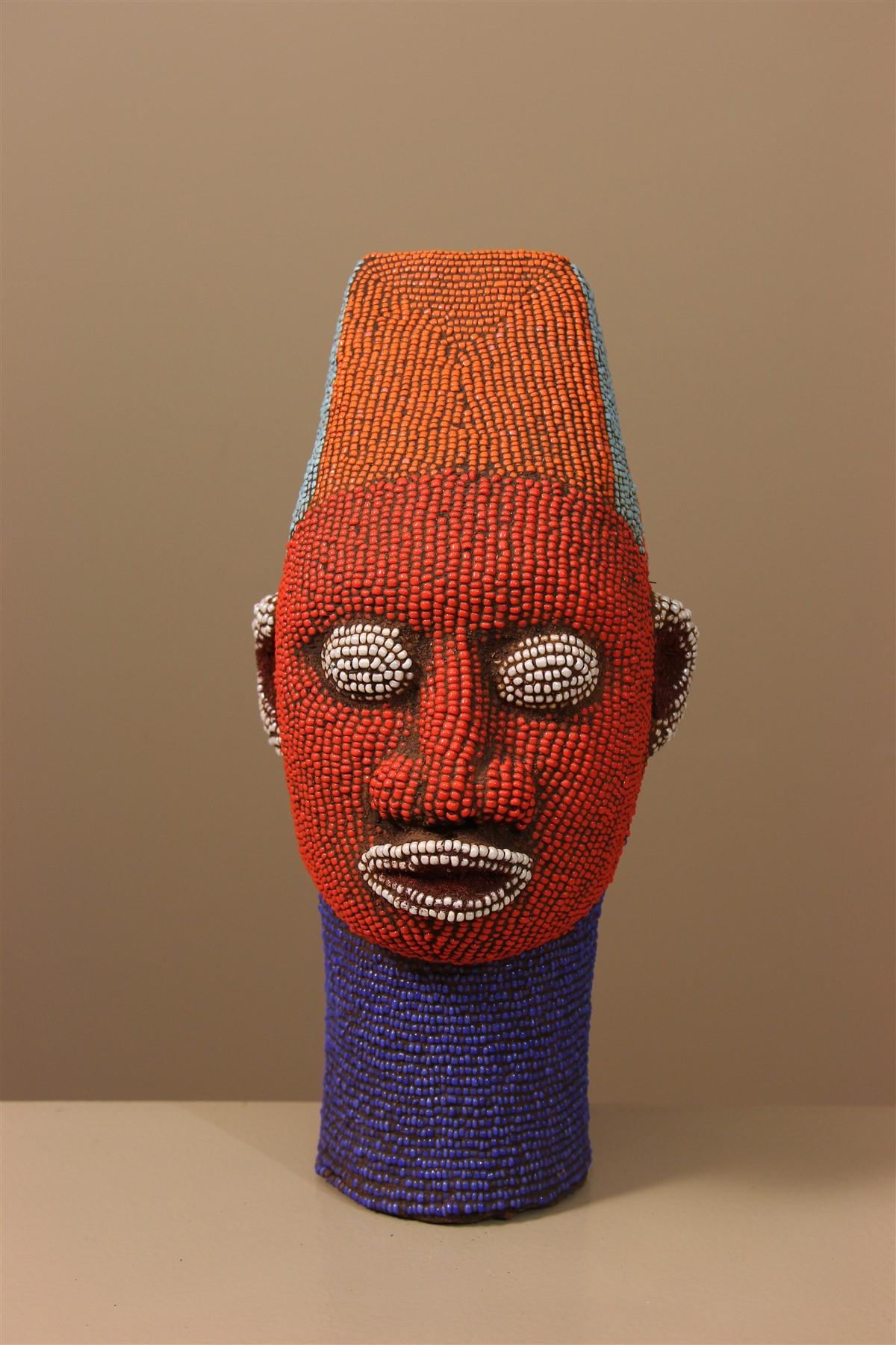 Tête royale Ifé en terre cuite