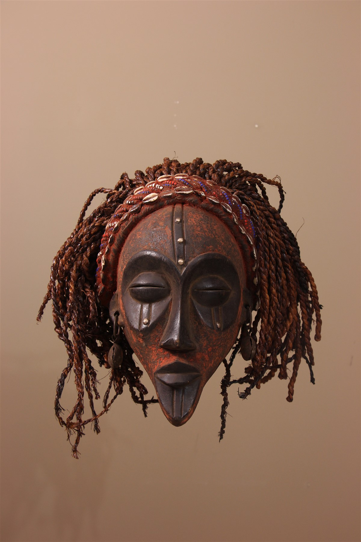 Masque africain Chokwe  - Déco africaine - Art africain traditionnel