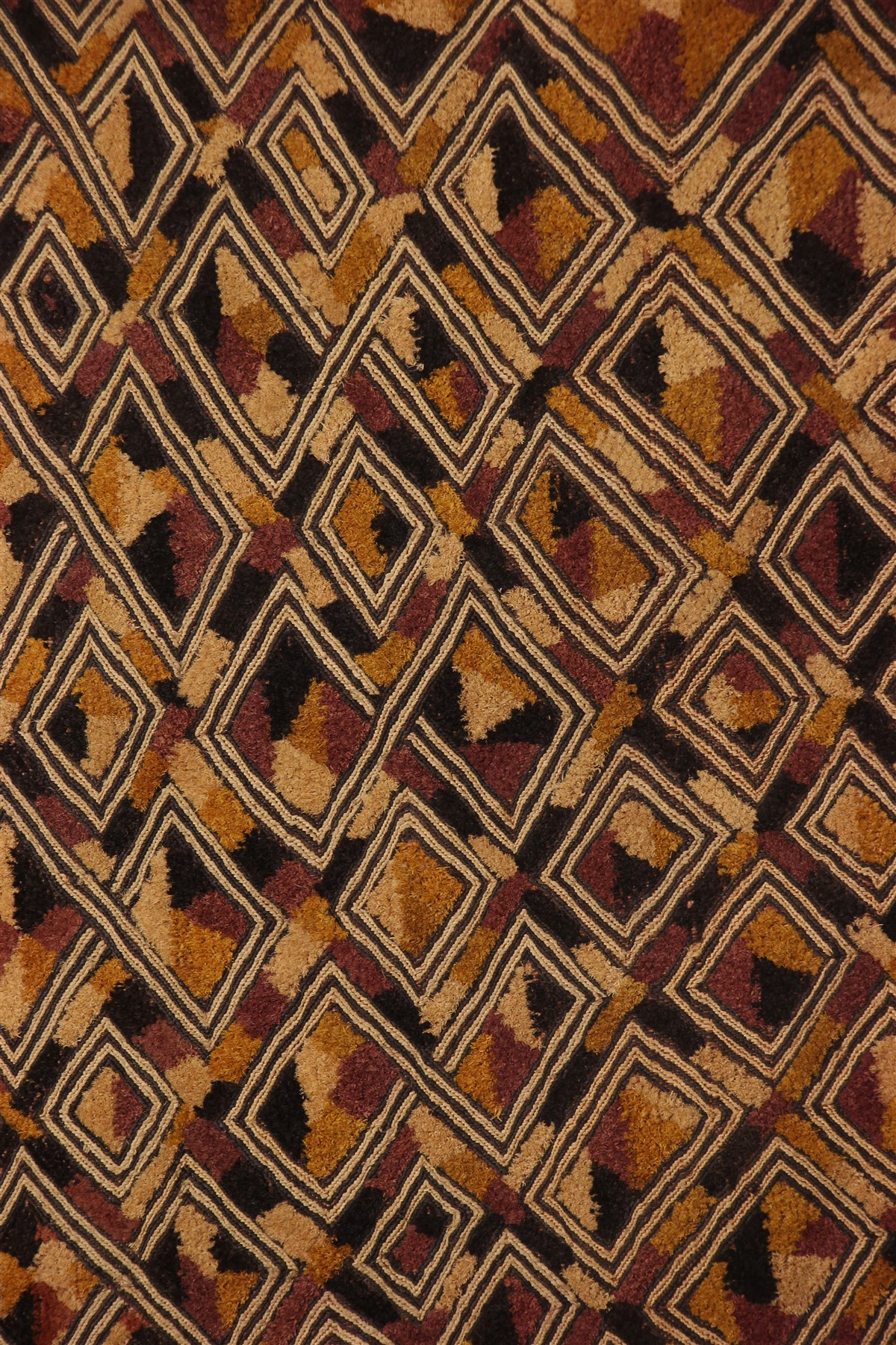 Velours Kuba du Kasaï - Déco africaine - Art africain traditionnel