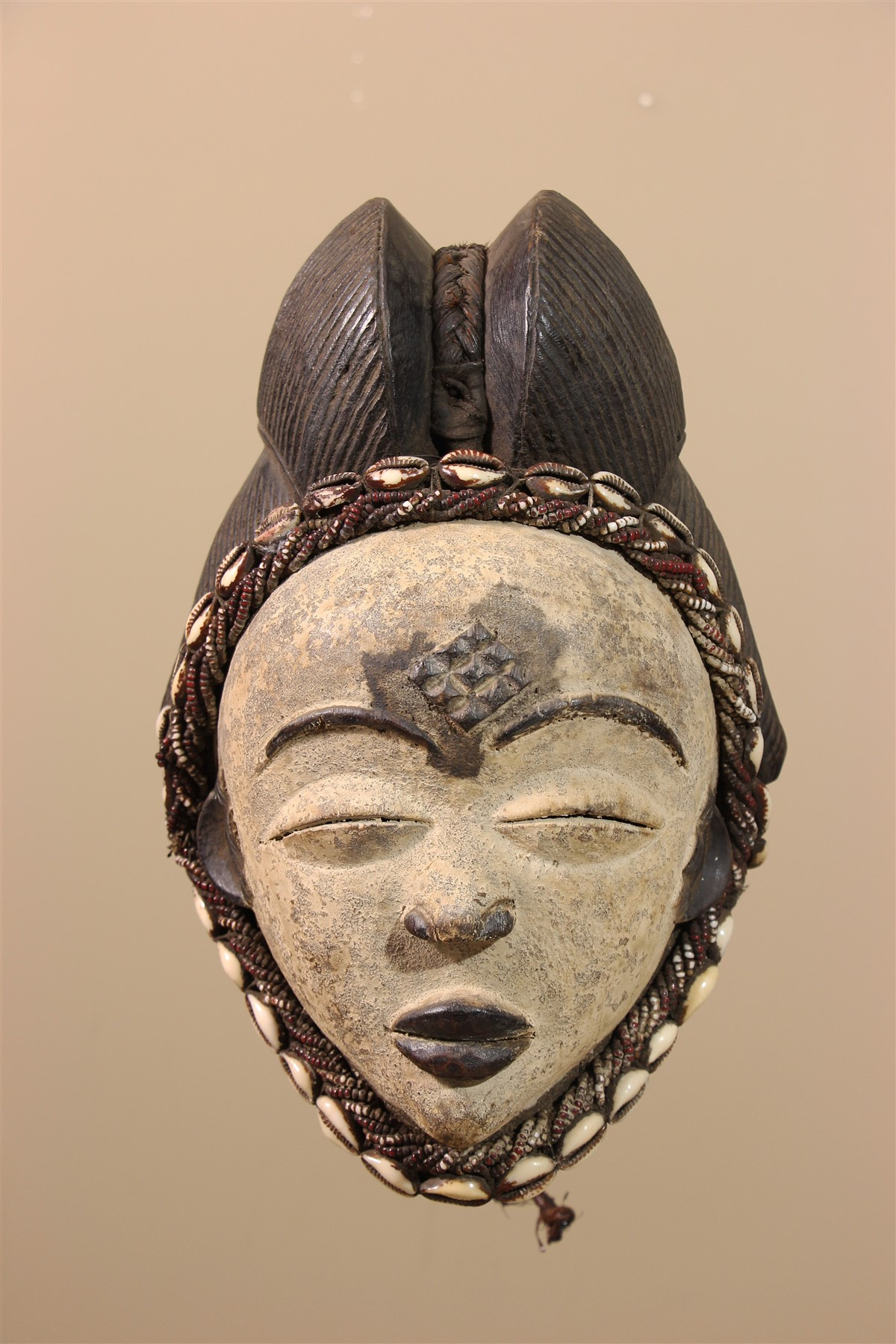 Masque Punu du Gabon - Déco africaine - Art africain traditionnel