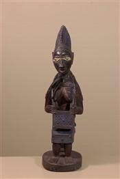 Statues africainesStatue de maternité Yoruba
