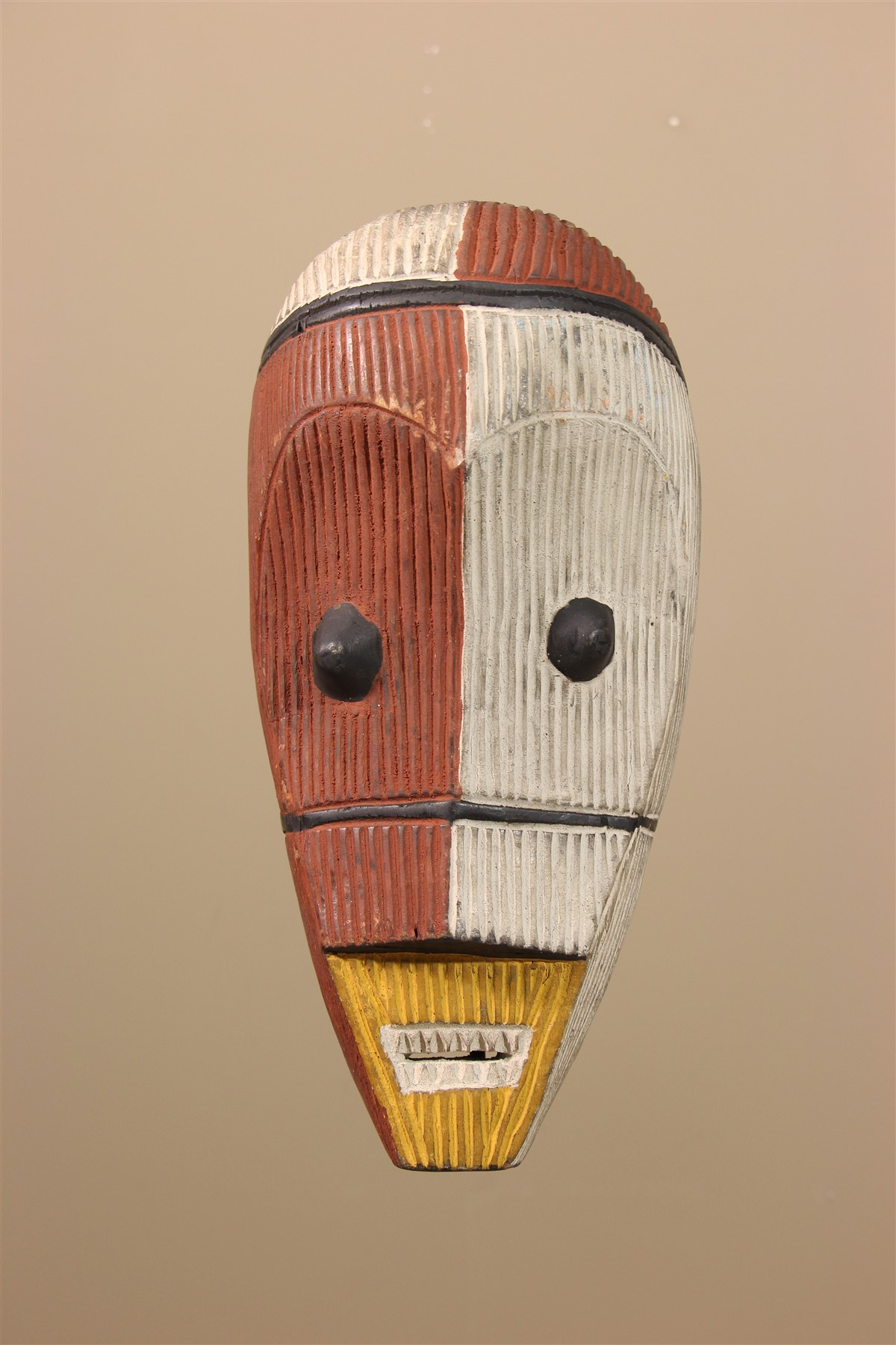 Masque africain Metoko - Déco africaine - Art africain traditionnel