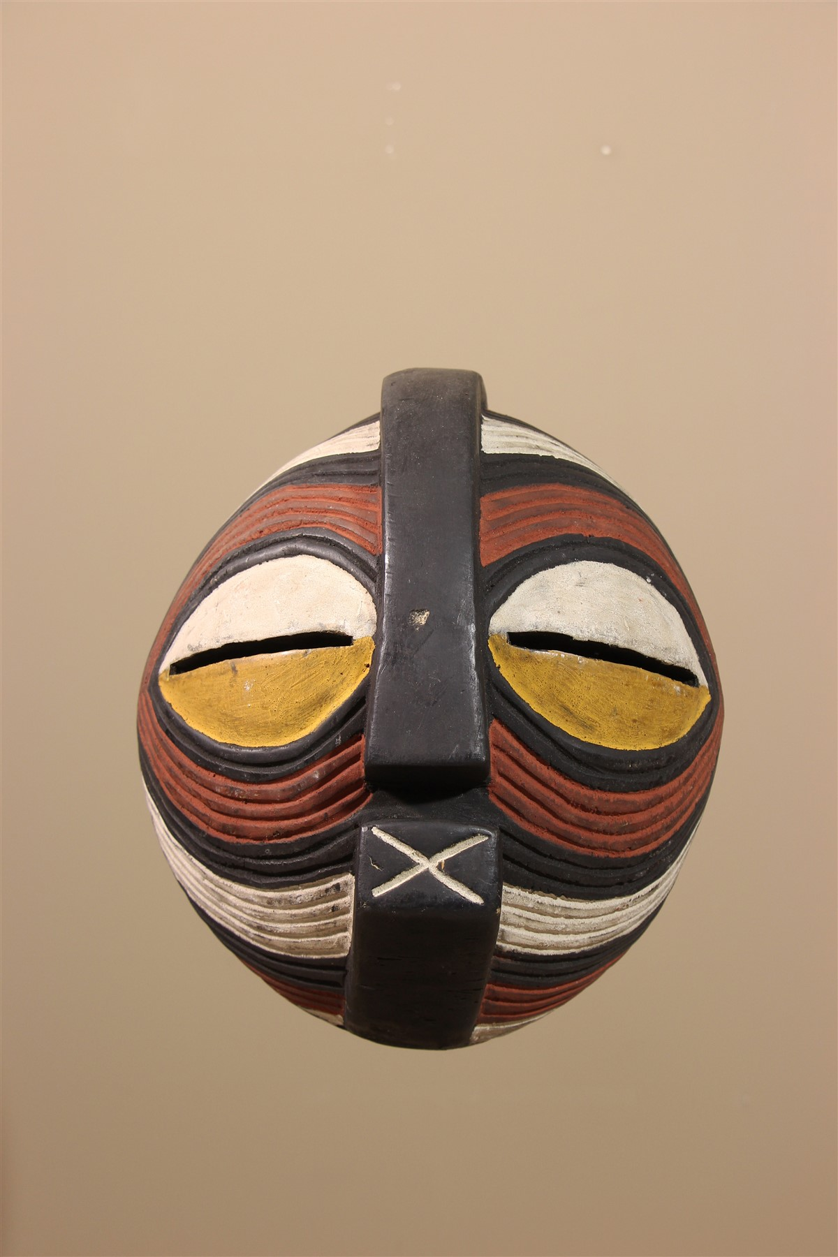 Petit Masque Songye / Luba Kifwebe - Déco africaine - Art africain traditionnel
