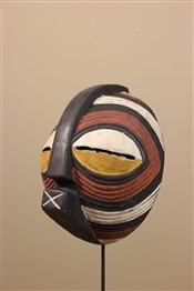 Masque africainPetit Masque Songye / Luba Kifwebe