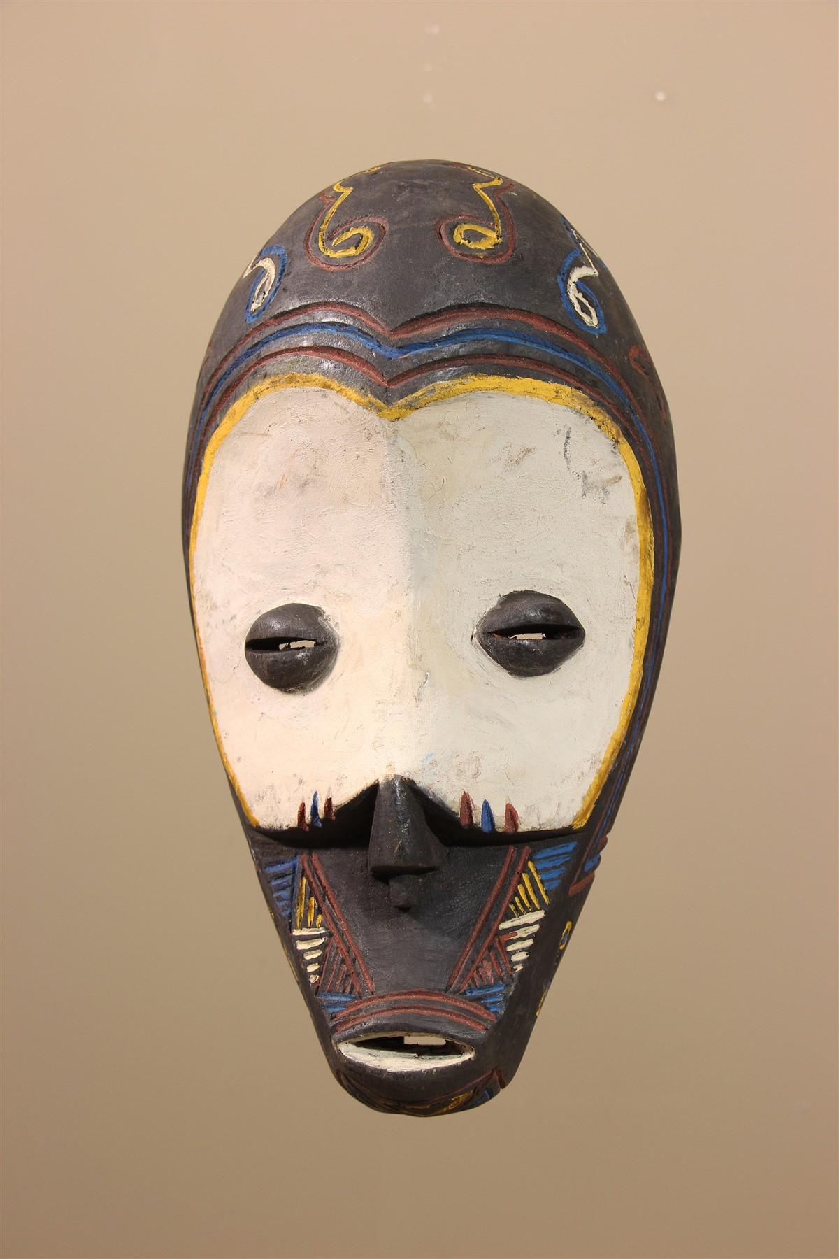 Masque africain Ngombe