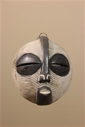 Masque africainMasque Luba